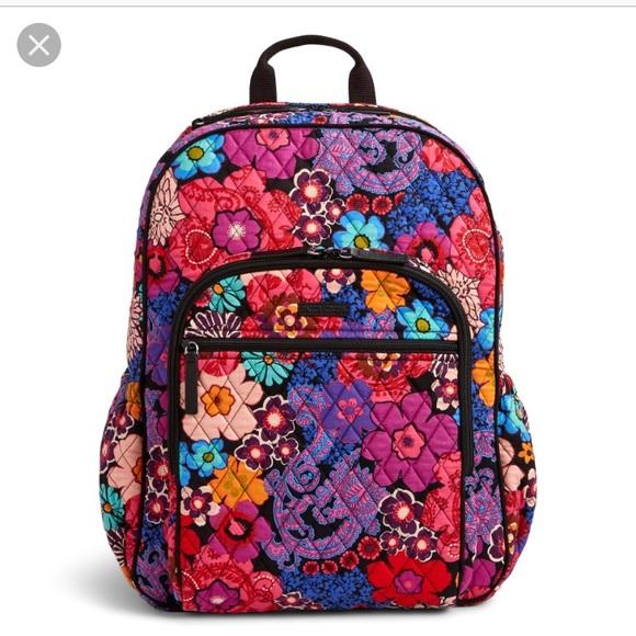 3c4d26aa615e Vera Bradley Campus Tech Backpack. M 5b68b48d25457aa7319344ed